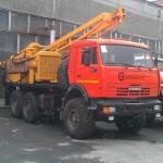 Буровая установка на базе Урал УРБ-2Д3